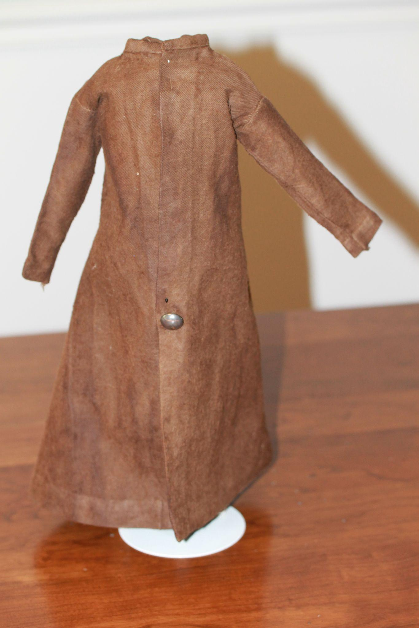 Antique HTF Duster Style Coat for French Fashion, China Doll