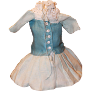 Charming 8 in Dress for Bisque, Composition Dolls