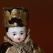 Best 1870s Kinderkoph Doll House Doll Antique China Doll