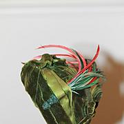 Fab Antique Velvet Bonnet for Bisque Doll, Bebe