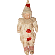 Celluloid Christmas Clown Doll