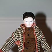 AO Ca. 1850 Kinderkoph China Doll