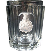 Antique French Georgian Crystal Glass with Sulfide St Louis c. 1820 Baccarat