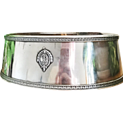 1924 Silver Plated Biltmore Hotel Food Dome