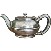 Silver Plated Eastern Steamship Lines Teapot