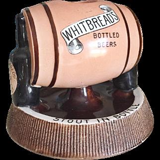 Antique English Whitbreads Beer Match Striker