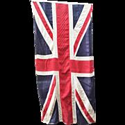Antique WWI Era Stitched Union Jack Flag
