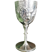 Vintage 1953 English Silver Plated Pony Club Trophy