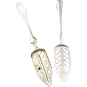 Set of 2 Vintage French Absinthe Spoons