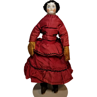 Antique Early China Doll