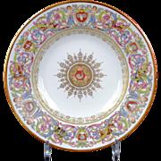 10 Antique Sevres  St. Cloud Soup Plates