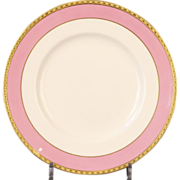 12 Antique Minton Pink Dessert or Salad Plates