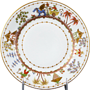 11 Le Tallec for Tiffany: Cirque Chinois Hand-Painted Dinner Plates