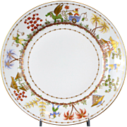 9 Le Tallec for Tiffany: Cirque Chinois Hand-Painted Salad or Dessert Plates