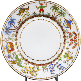 12 Le Tallec for Tiffany: Hand-Painted Small Plates