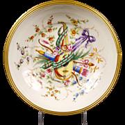 Le Tallec Hand-Painted Bowl, Paris, France