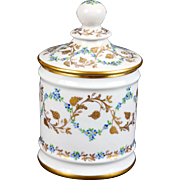 Le Tallec Hand-Painted Apothecary Jar