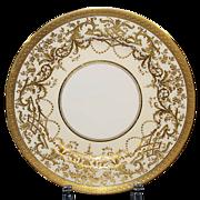 9 Ornate Minton Antique Lunch, Salad or Dessert Plates