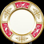 13 Minton Pâte-sur-Pâte Service Plates