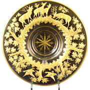 Antique Moser Centerpiece Bowl