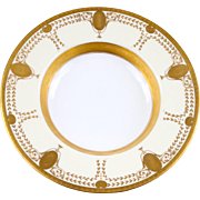 Minton  for Tiffany: Bronze Mounted Bowl
