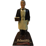Schmidt's Beer and Ale Advertising Bar Tender 12.5""