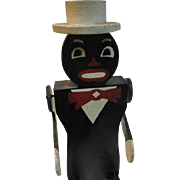 Folk Art Dancing Man Man with Base