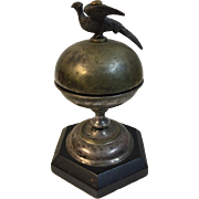 Hotel Front Desk Bell with Bird