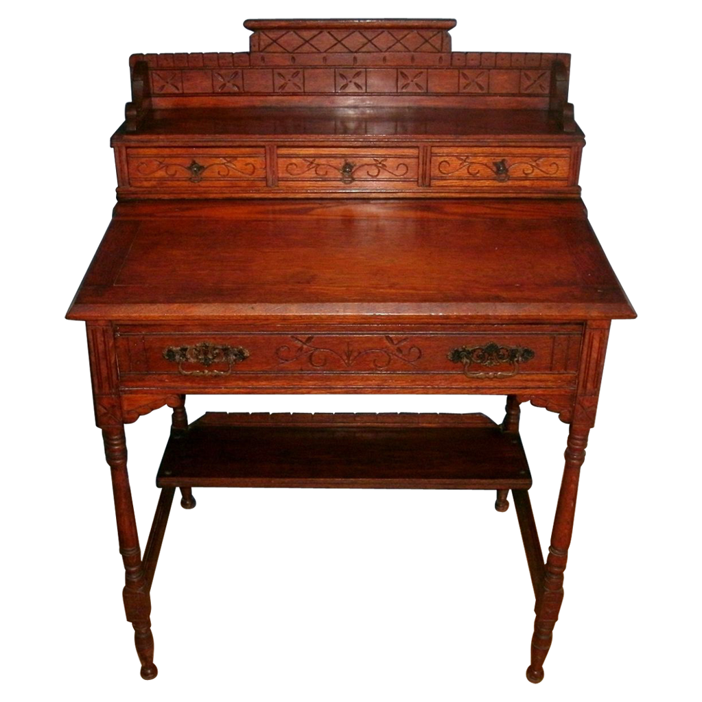 Antique Slant Top Desk Antique Furniture