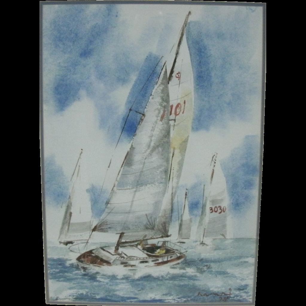 Vintage Sailing 104
