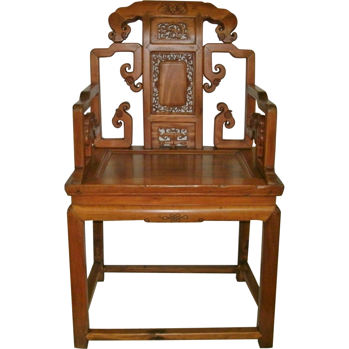 Early 19th Century Antique Hand Carved Chinese