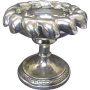 Rare Antique Austrian Silver Open Footed Salt Cellar, Alt-vienna, 1833.