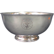 Reed & Barton Silver Plated Bowl With The Seal Of The Speaker Of The USHOR, USA, 1950's.