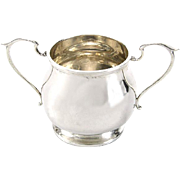 Sterling Silver Two Handled Sugar Bowl, Fattorini & Sons, Birmingham, 1916.