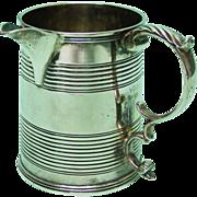 Sterling Silver Milk Jug Creamer Joseph Angell I London England 1825