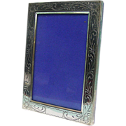 Italian Sterling Silver Photo Picture Frame.