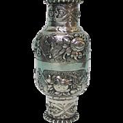 Silver Double Cup By Simon Rosenau, Bad Kissingen, Germany, Circa 1880.