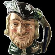 Royal Doulton Robin Hood Character Toby Jug, England, 1959.