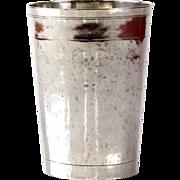 Silver Cup Beaker, Johann Friedrich Ehe, Nuremberg, Germany, 1793-1797.