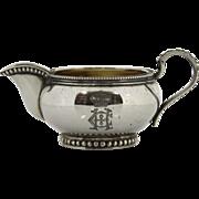 Silver Milk Jug Creamer Denmark 1884