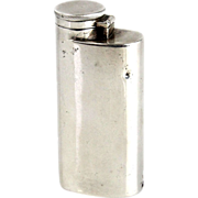 Sterling Silver Miniature Hip Flask and Striker Gorham Manufacturing Co Birmingham England 1915