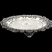 Odiot Silver Plated Salver Paris France Circa 1910