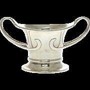 Sterling Silver Two Handled Bowl, George Unite, Birmingham, England, 1911.