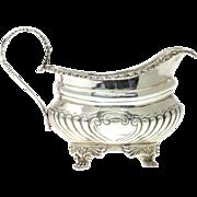 Sterling Silver Creamer Milk Jug, Charles Stuart Harris, London, England, 1902.