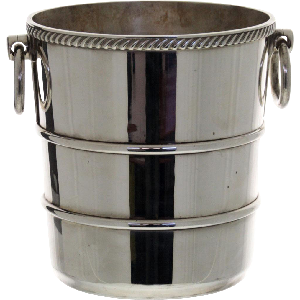 Gorham Silver Plated Champagne Wine Cooler / Ice Bucket, Rhode Island, USA, 1896.