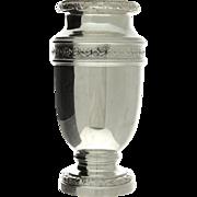 French Sterling Silver Vase, Henin & Cie, Paris, Circa 1900.