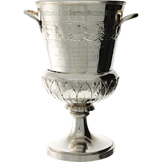 Sterling Silver Trophy Presented to HRH The Prince of Wales - King Edward VIII