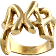 9 Karat Yellow Gold Ring