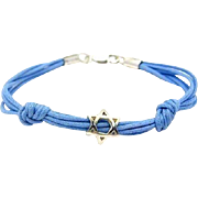 Sterling Silver Star of David Bracelet