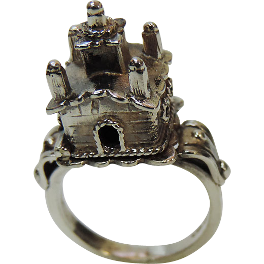 Sterling Silver Jewish Wedding Marriage Ring, Judaica.